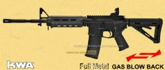 M4 GBBR Magpul PTS Edition (System7, 2 Pmag version) by KWA